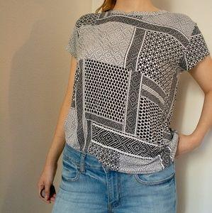 Forever 21 pattern shirt